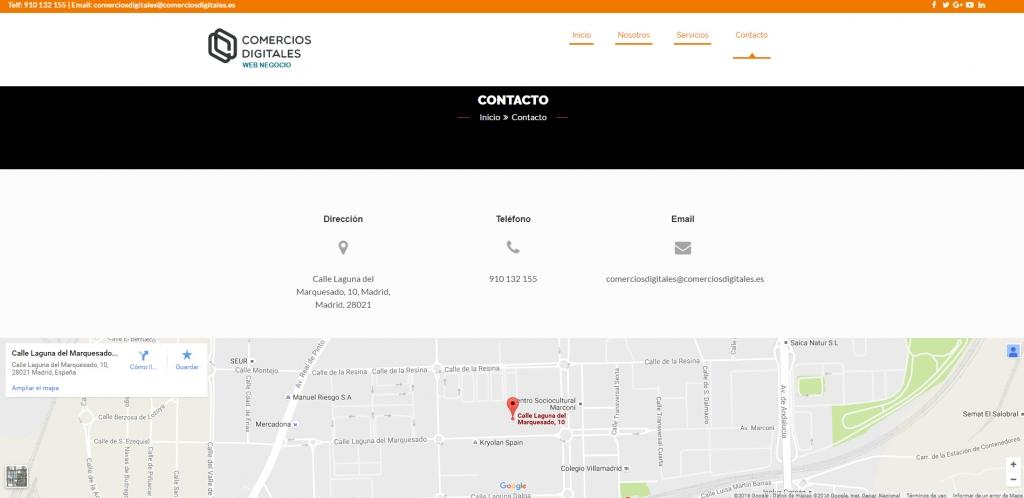 ejemplo web negocio 2