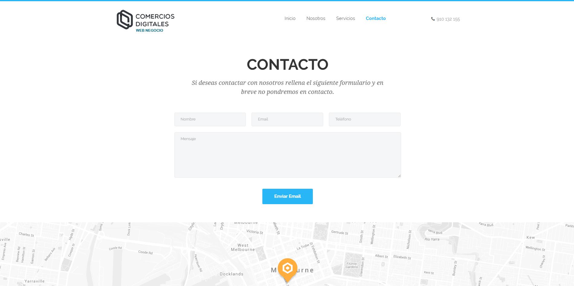 ejemplo web negocio 1