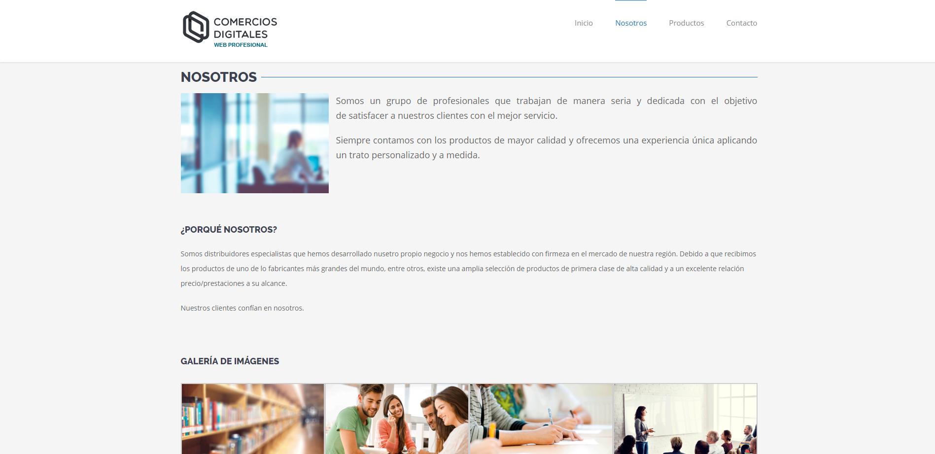 ejemplo web corporativa 1