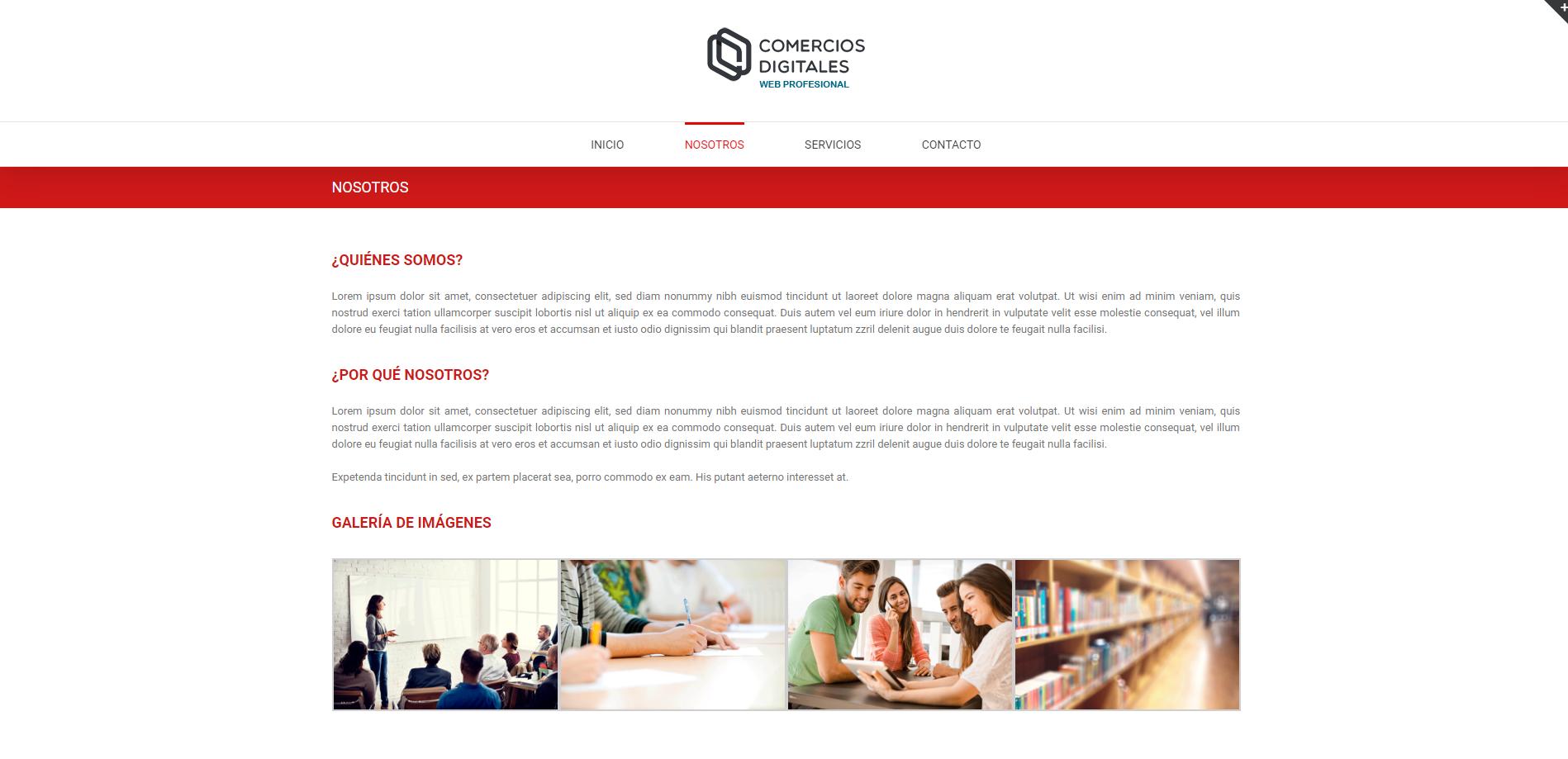 ejemplo web corporativa 2