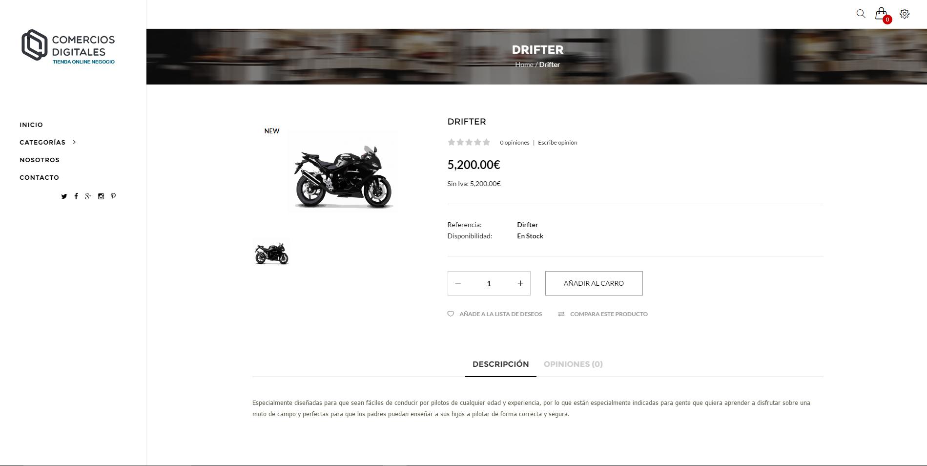 ejemplo tienda online negocio 4