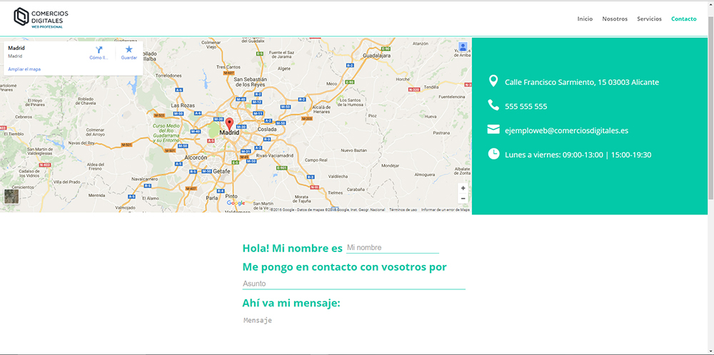 ejemplo web profesional 5