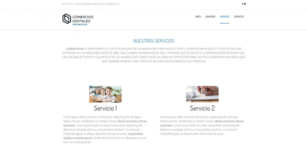 ejemplo web negocio 7